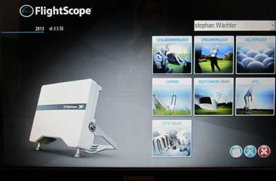 Flight Scope Golfunterricht Golfschule Wächter